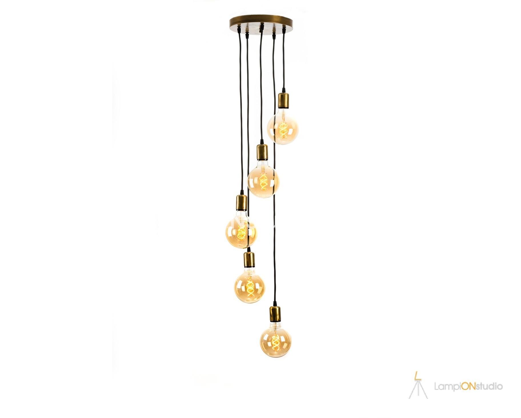LED винтидж полилей