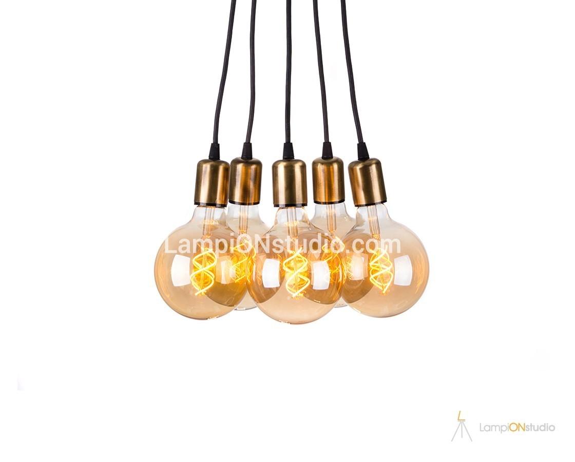 светодиоден (LED) винтидж полилей