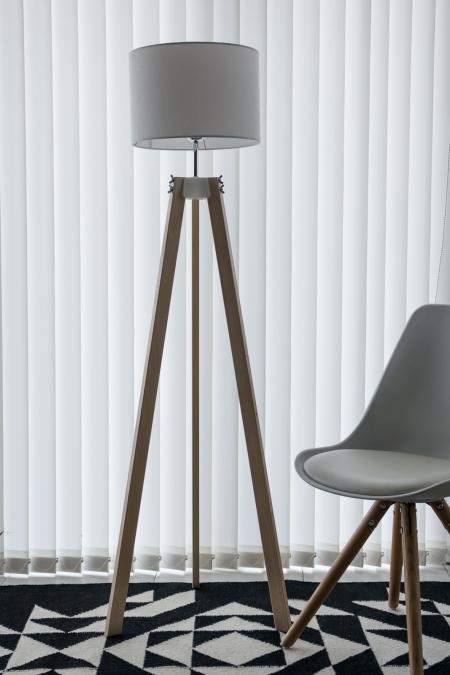 floor lamp in the interior