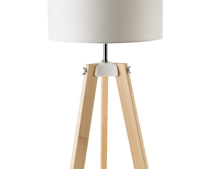 wood desk lamp