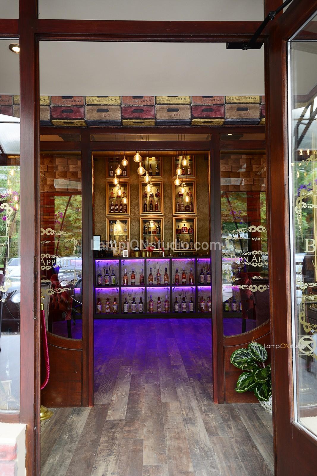lighting restaurant design