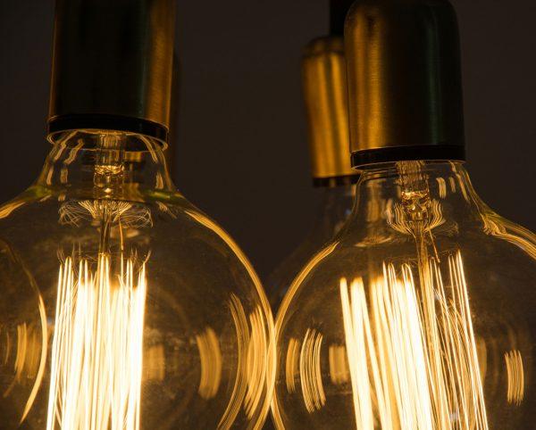 vintage cluster pendant chandelier